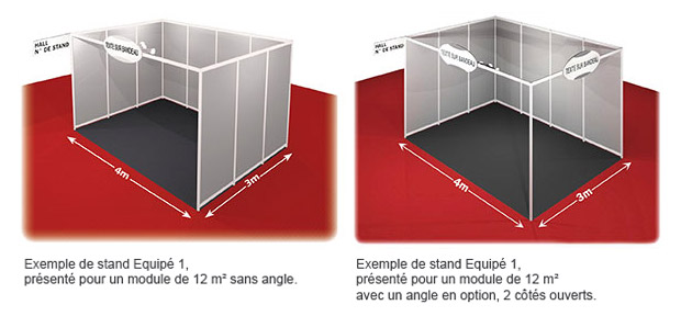 Tarifs salon micronora for Exemple de stand