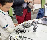 Prothese IKO enfants compatible LEGO