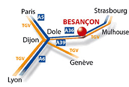 plans acces salon micronora besancon